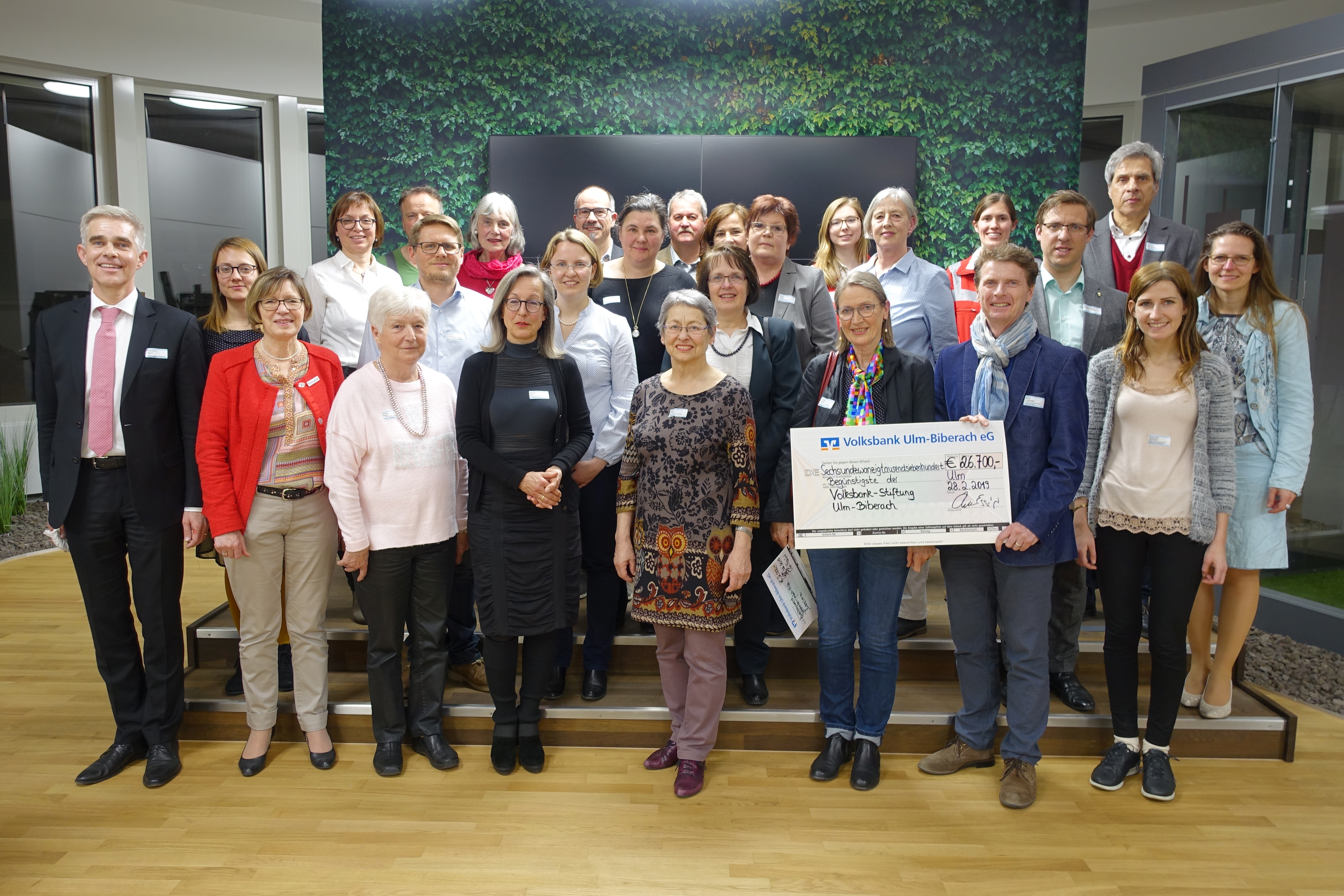 Pressefoto Volksbank Ulm-Biberach